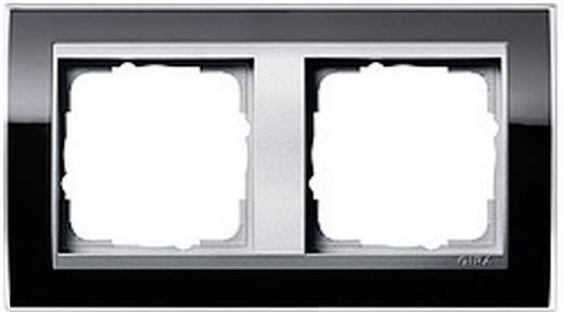 GIRA Event Clear, Standaard 55, System 55 2-voudig Frame Zwart 0212 736