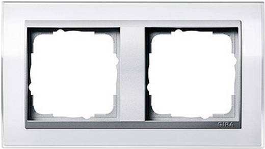 GIRA 2-voudig Frame Event Clear, Standaard 55, System 55 Wit 0212 726