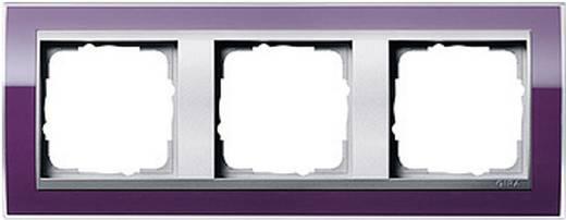 GIRA Event Clear, Standaard 55, System 55 3-voudig Frame Aubergine 0213 756