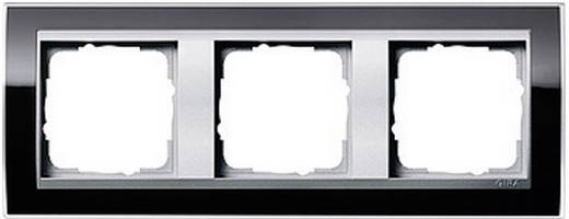 GIRA 3-voudig Frame Event Clear, Standaard 55, System 55 Zwart 0213 736
