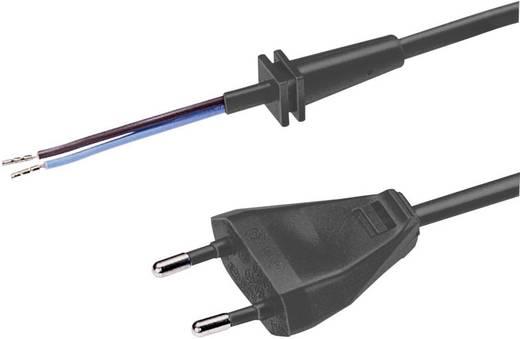 Stroom Kabel [ Euro-stekker - Kabel, open einde] Zwart 1.50 m
