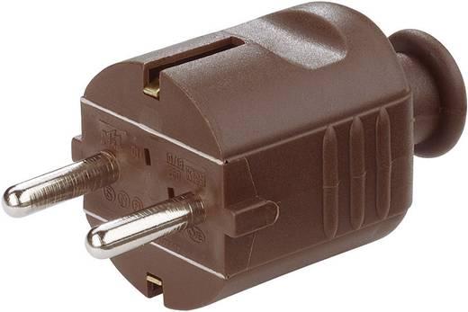 Stekker met randaarde Kunststof 230 V Bruin IP20 620309