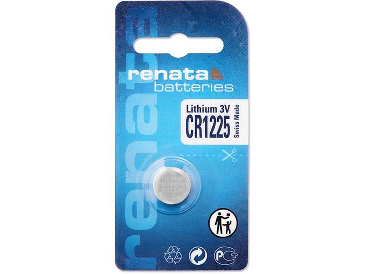CR1225 Knoopcel Lithium 3 V 48 mAh Renata CR1225 1 stuk(s)