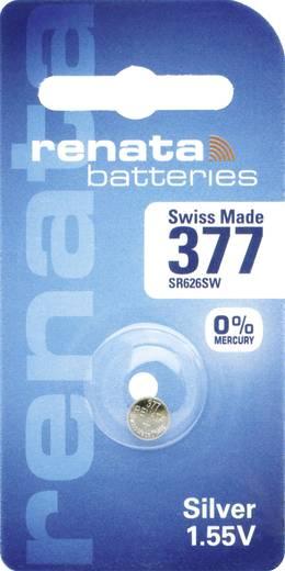 377 Knoopcel Zilveroxide 1.55 V 24 mAh Renata 1 stuks