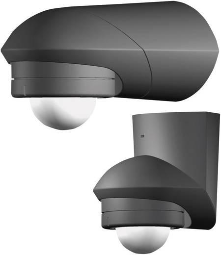 Opbouw PIR-bewegingsmelder Grothe 94533 120 ° Relais Zwart IP55
