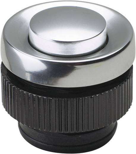 Grothe Belknop 1-voudig 62045 Aluminium 24 V/1,5 A