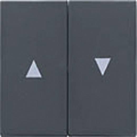 GIRA Afdekking Jaloezie-schakelaar/-knop System 55, Standaard 55, E2, Event, Event Clear, Event Opaque, Esprit, ClassiX Antraciet 029428