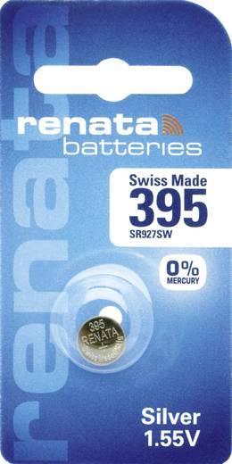 395 Knoopcel Zilveroxide 1.55 V 55 mAh Renata 1 stuks