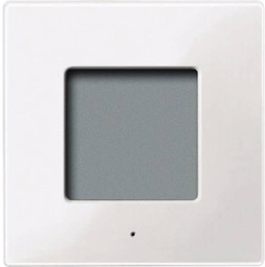 Merten 561319 Draadloze thermometer System M sneeuw-wit Polar-wit glanzend