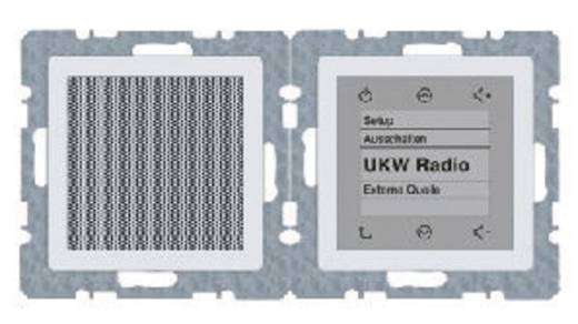 Berker Inbouw Inbouwradio Q.1, Q.3 Polar-wit 2880 60 89