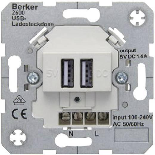 Berker Inbouw USB-stekkerdoos B.7, B.3, B.1, Modul 2, Q.1, K.5, K.1, ARSYS Polar-wit 2600 09