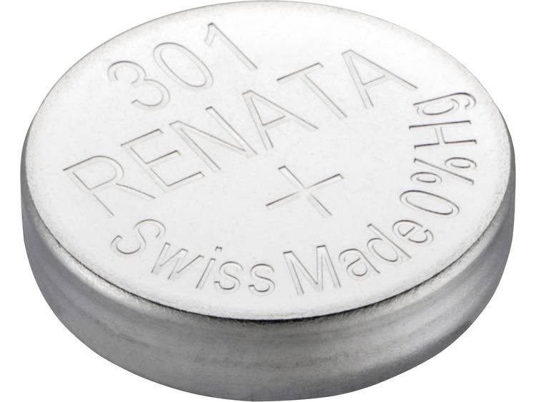 301 Knoopcel Zilveroxide 1.55 V 130 mAh Renata SR43 1 stuk(s)