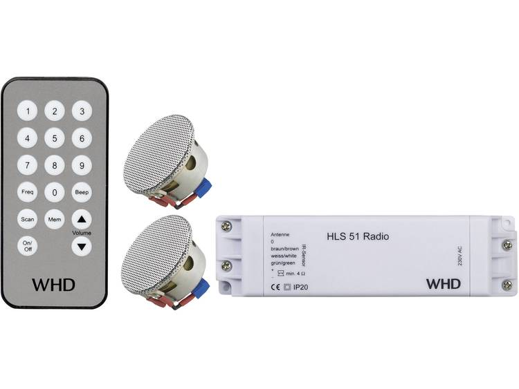 WHD Inbouw Luidspreker, Afstandsbediening, Radio Chroom 106-005-07-100-00