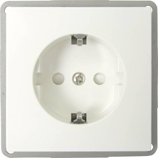 GAO Inbouw Stopcontact met randaarde Modul Wit EFP300G