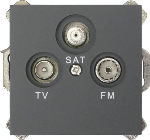 GAO Afdekking Televisie, radio, satelliet Modul Zwart EFP800TRS cover