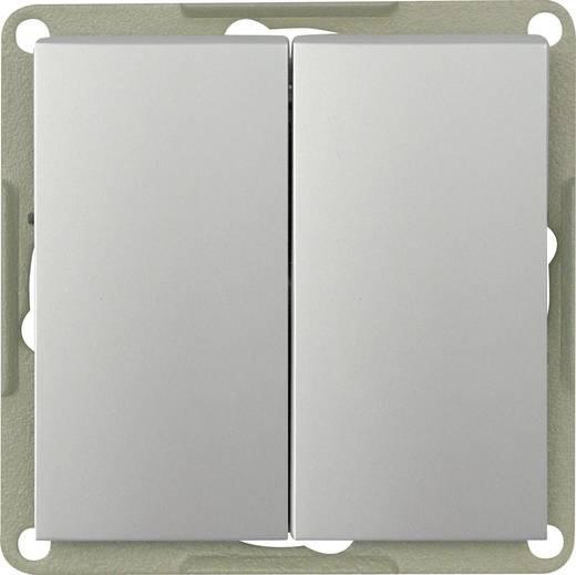 GAO Inbouw Serieschakelaar Modul Zilver EFP200