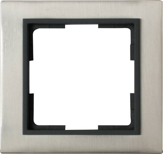 GAO 1-voudig Frame Modul RVS (geborsteld) EFV001-C