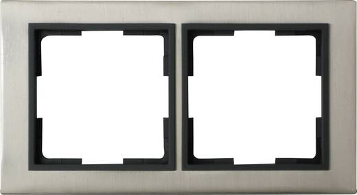 GAO 2-voudig Frame Modul RVS (geborsteld) EFV002-C