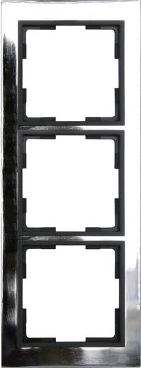 GAO 3-voudig Frame Modul RVS (glanzend) EFV003-D