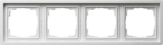 GIRA Vlakke schakelaar 4-voudig Frame Wit 0214112