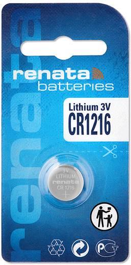 Renata CR1216 Knoopcel Lithium 30 mAh 3 V 1 stuks