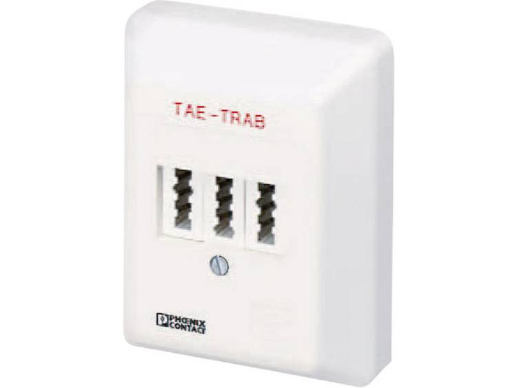 Phoenix Contact Electro-Installatie TAE OPBOUWDOOS FM-NFN Crème-wit IP20
