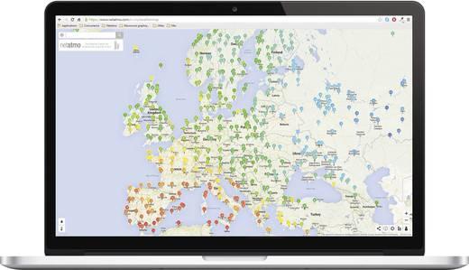 Digitaal draadloos weerstation Netatmo Voorspelling voor 12 tot 24 uur