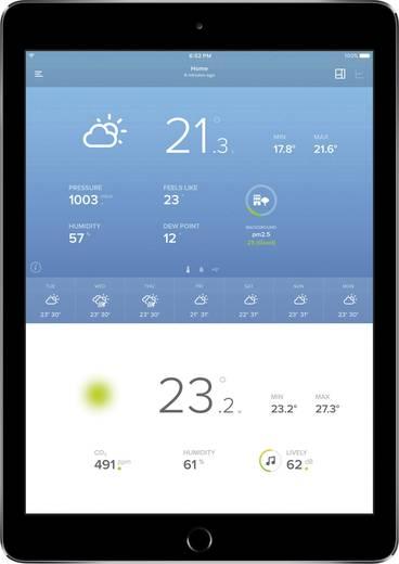 Digitaal draadloos weerstation Netatmo NWS01 Voorspelling voor 12 tot 24 uur