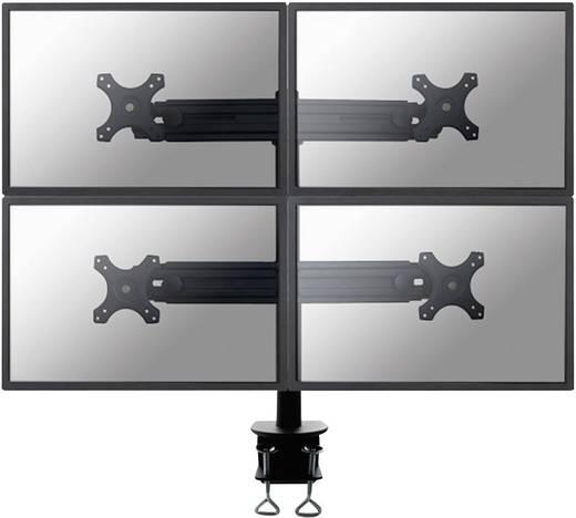 """4-voudig Monitor-tafelbeugel 48,3 cm (19"""") - 76,2 cm (30"""") Kantelbaar en zwenkbaar, Roteerbaar NewStar Products FPMA-D700D4 In hoogte verstelbaar"""