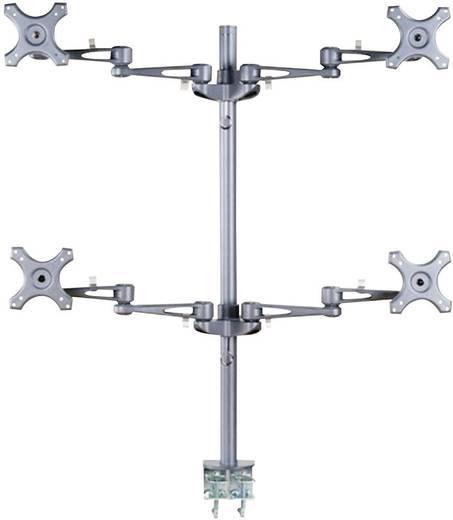 "4-voudig Monitor-tafelbeugel 25,4 cm (10"") - 68,6 cm (27"")"