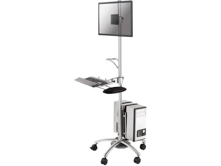 Monitorkast op wieltjes NewStar FPMA-MOBILE1800 25,4 cm (10) - 68,6 cm (27) Kantelbaar en zwenkbaar
