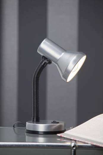 Tafellamp E27 Brilliant Junior Titaan