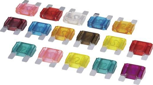 set 2 x 20, 30, 35, 40, 50, 60A 1 x 80, 90, 100 A Geel, Groen, Blauw-groen, Oranje, Rood, Blauw, Helder, Roze, Violet