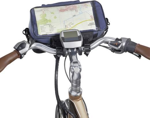 Bicyle Gear Happy Cyclist Stuurtas Zwart, Zwart-blauw, Zwart-groen