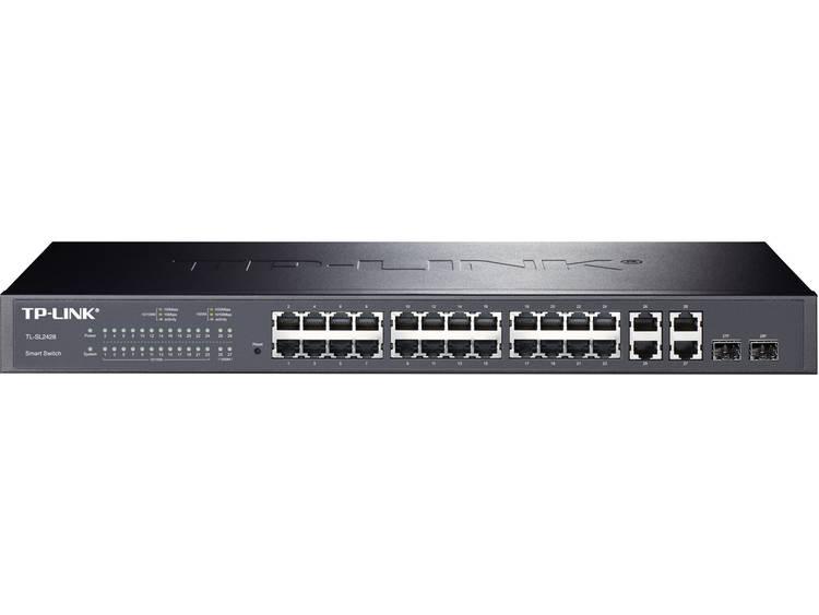 TP-LINK TL-SL2428 Netwerk switch RJ45/SFP 24 + 2 poorten 1 Gbit/s