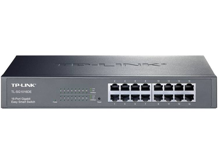 TP-LINK TL-SG1016DE Netwerk switch RJ45 16 poorten 1 Gbit/s