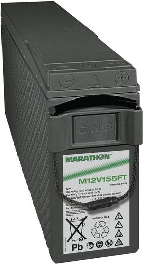 GNB Marathon NAMF120155VM0FA Loodaccu 12 V 150 Ah M 12V 155 FT UL94 Loodvlies (AGM) (b x h x d) 124 x 283 x 559 mm M6-sc