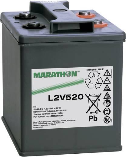 Loodaccu 2 V 520 Ah GNB Marathon NALL020520HM0FA Loodvlies (AGM)