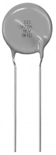 Keramische schijfcondensator Radiaal bedraad 1 nF 250 V 20 % Murata DE1E3KX102MA4BL01 500 stuks