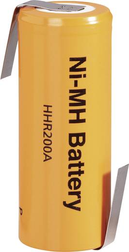 Panasonic 4/5 A 2040 LF-Z Speciale oplaadbare batterij 4/5 A Z-soldeerlip NiMH 1.2 V 2000 mAh