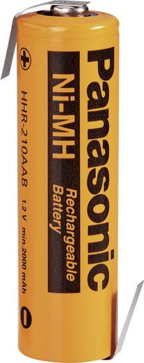 Panasonic AA 2080 LF-Z Speciale oplaadbare batterij AA (penlite) Z-soldeerlip NiMH 1.2 V 2000 mAh