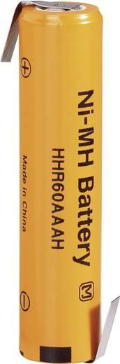 AAA (potlood) Speciale oplaadbare batterij 1.2 V NiMH 500 mAh Panasonic AAA HT 550 LF-Z 1 stuks