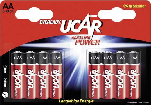 Ucar AA-batterijen, 8 stuks