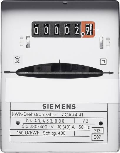 kWh-meter 3-fasen Mechanisch 10/40 A Conform MID: Nee