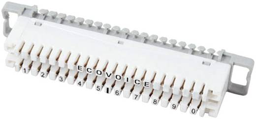 EFB Elektronik 46005.1 LSA-strips serie 2 Scheidingsstrip 2/10, zonder kleurcode 10 dubbele aders 1 stuks
