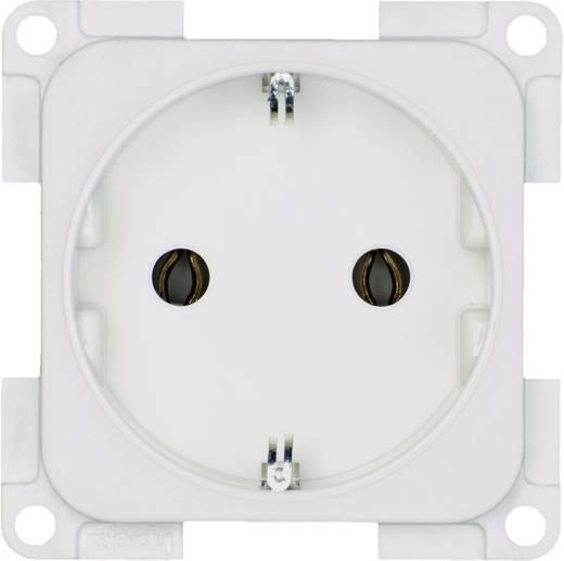 inprojal elektrosysteme Inbouw Stopcontact met randaarde Wit 102556
