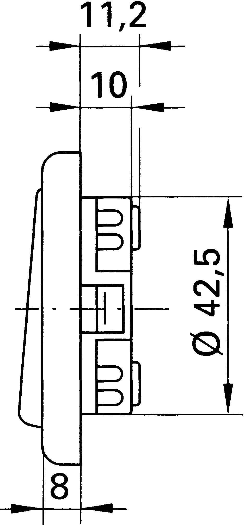 inprojal elektrosysteme Inbouw Uitschakelaar Bruin 102564   Conrad.nl