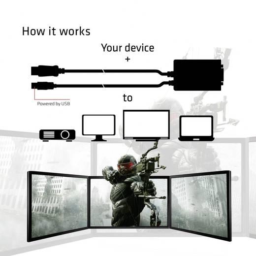 Adapter DisplayPort / DVI [1x DisplayPort stekker - 1x DVI-bus 24+1-polig] Zwart club3D