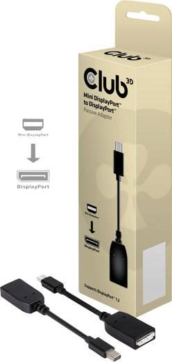 Adapter DisplayPort [1x Mini-DisplayPort stekker - 1x DisplayPort bus] Zwart club3D