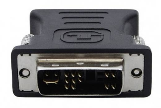 DVI / VGA Adapter [1x DVI-stekker 12+5-polig - 1x VGA bus] Zwart club3D